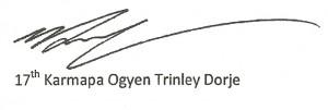 17th-karmapa-signature